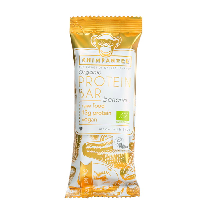 Protein Bar Banana (Vegan / RAW / Gluten Free) 25x45gr